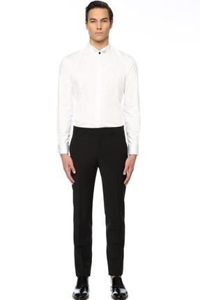 Network Erkek Slim Fit Beyaz Gömlek 1074789 1