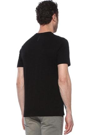 Network Erkek Slim Fit Siyah Tshirt 1074389 2