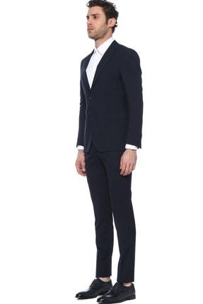 Network Erkek Slim Fit Lacivert Takım Elbise 1075582 1