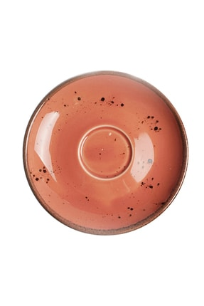 Tulü Porselen Luna Pembe 6 Kişilik Kahve Fincan Takımı 2