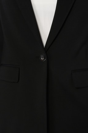 Network Kadın Slim Fit Siyah Ceket 1073403 3