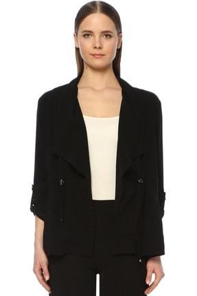 Network Kadın Regular Fit Siyah Ceket 1073836 0