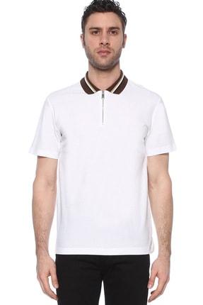 Network Erkek Polo Yaka Beyaz Tshirt 1073719 0