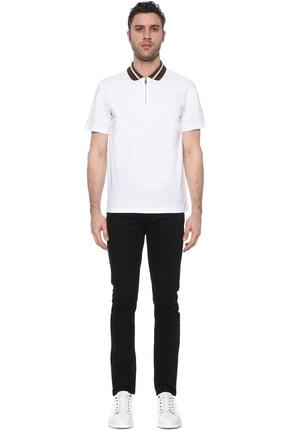Network Erkek Polo Yaka Beyaz Tshirt 1073719 1