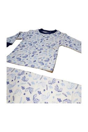 Hece Bebe Dinozor Figürlü Pijama Takımı 2
