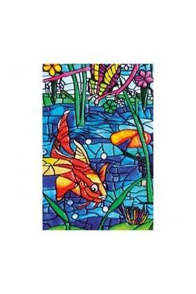 Redka/KumToys Mosaik Kabartma Başlangıç Seti - Balıklar 0
