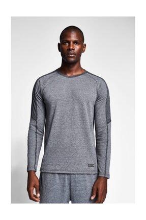 Lescon Gri Erkek Sweatshirt 1