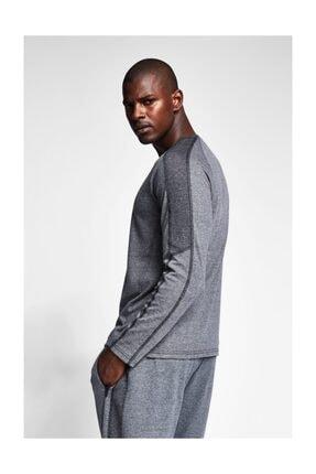 Lescon Gri Erkek Sweatshirt 3