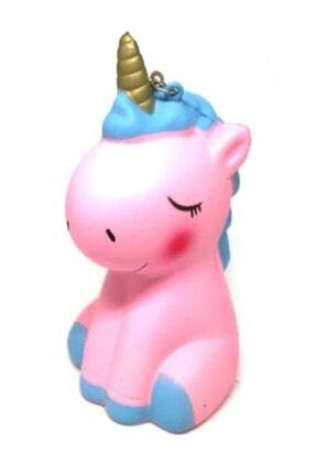 RoseRoi Unicorn At Squishy Anahtarlık Kokulu Yavaş Yükselen Oyuncak Sukuşi 0