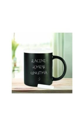 Viselia Tebeşir Kupa Yazı Yazılabilir Kupa Çay Kahve Fincanı 1