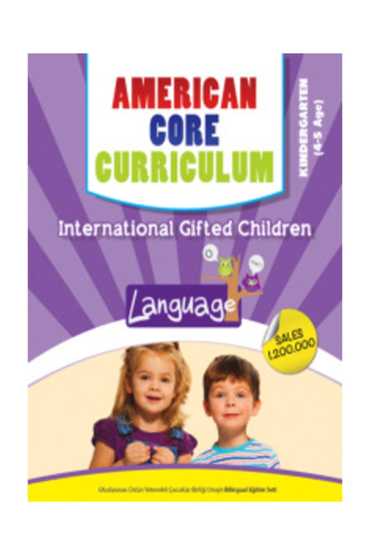 Kindergarten - 4-5 Yaş Ingilizce American Core Curriculum