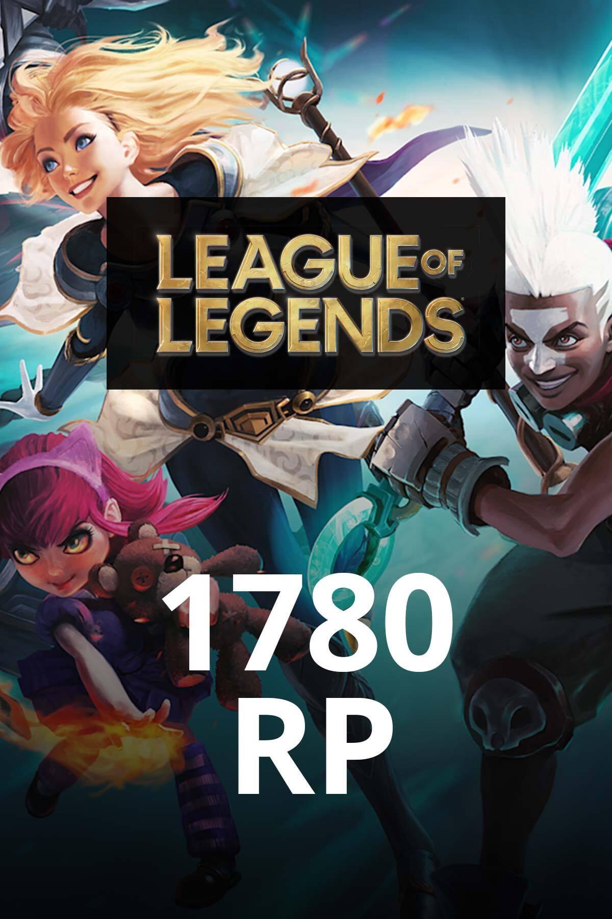 League Of Legends 1780 Rp TR