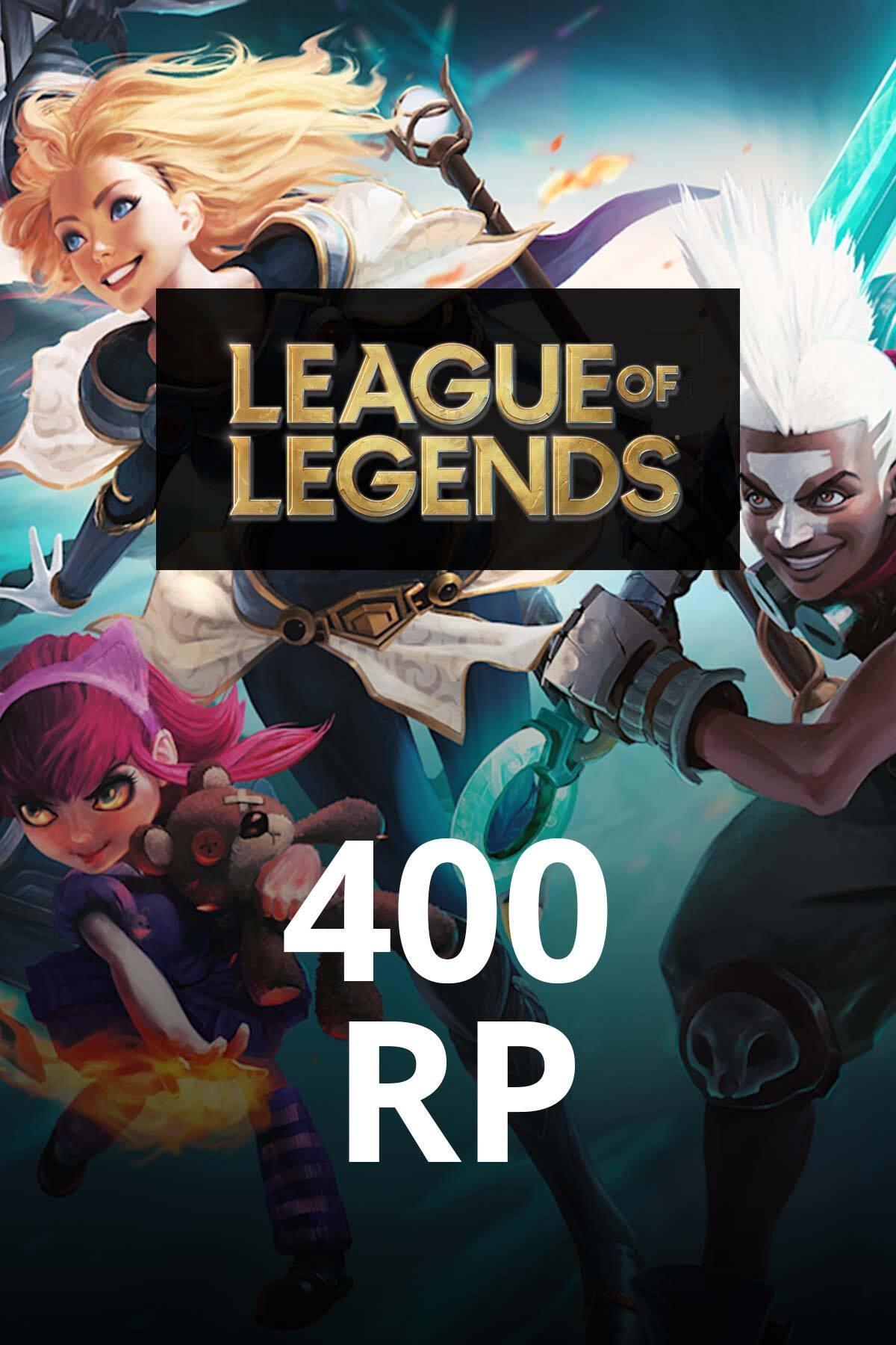 League of Legends 400 RP TR