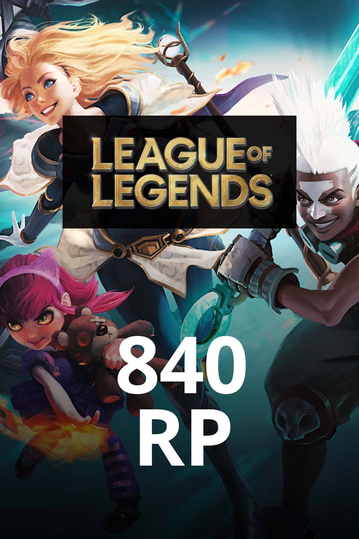 Riot Games League of Legends 840 RP TR 0