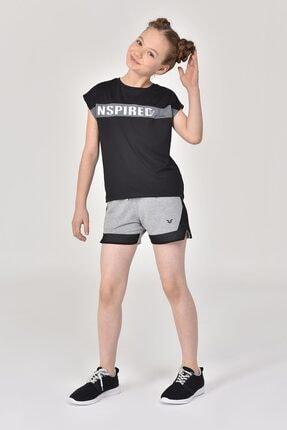 bilcee Siyah Kız Çocuk T-Shirt GS-8157 3