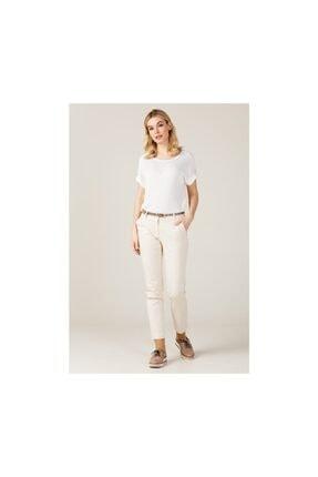 Ekol Kadın Kemerli Likralı Pantolon 0