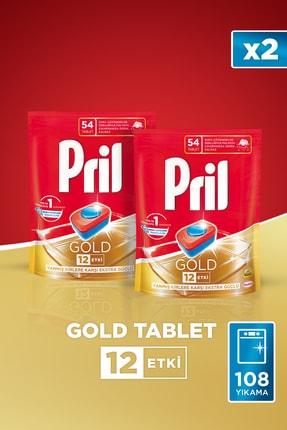 Pril Gold 54 Tablet Doypack 2'li Set 2