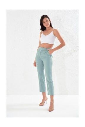 Setre Koyu Mint Tunik Boy Yelek Kalem Pantolon Takım 3
