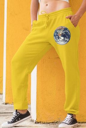 Angemiel Wear Dünya Sarı Kadın Eşofman Altı 0