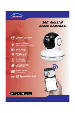 ALPSMART Akıllı Kablosuz Bebek Kamerası 360 1