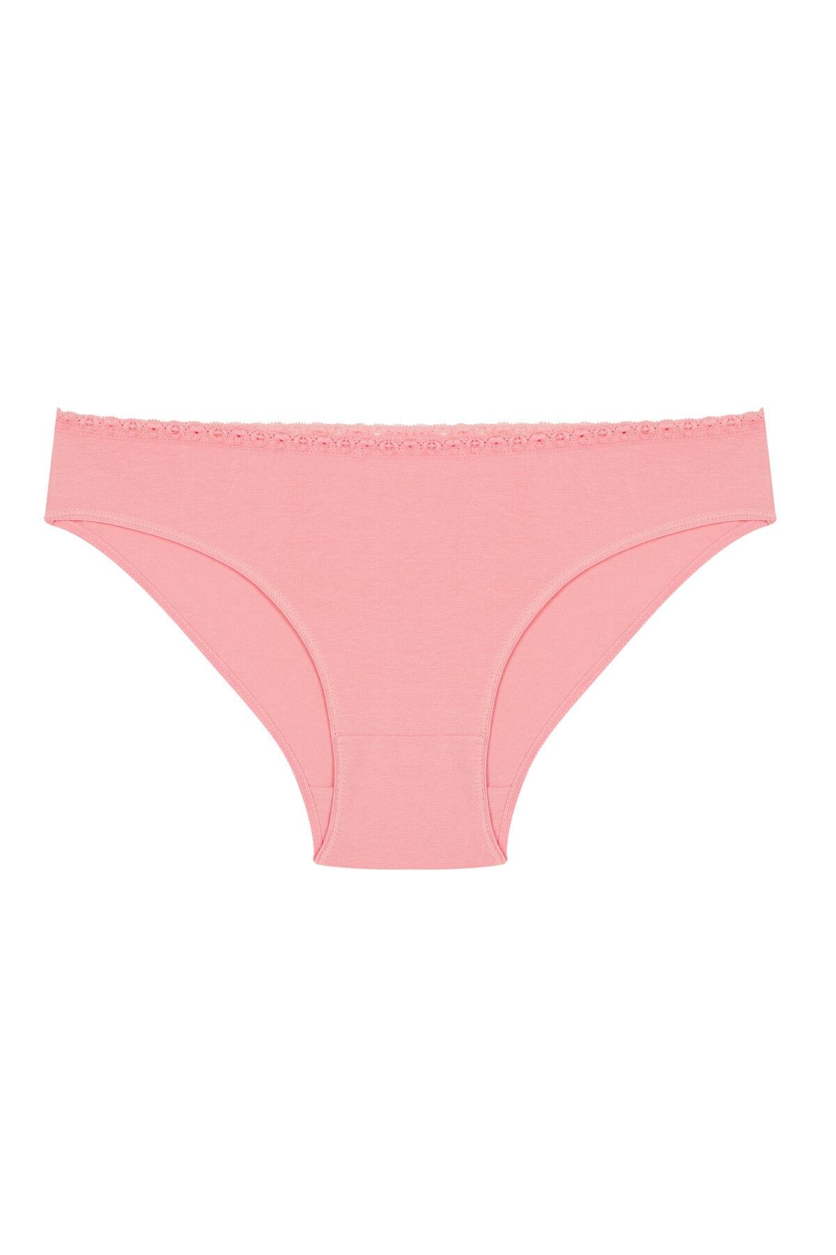 Penti Kadın Çok Renkli Peony 5'li Slip 1