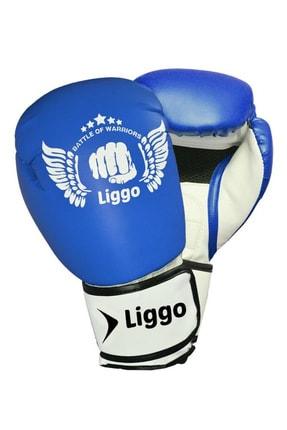 Liggo Unisex Çocuk Boks Eldiveni Kick Boks Muay Thai Eldiveni Liggo Force 0