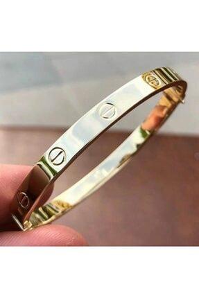 Aydın Gold Sarı Altın Cartier Kelepçe 0