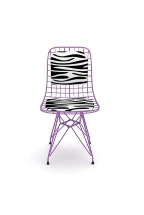 Kenzlife Knsz Kafes Tel Sandalyesi 1 Li Mazlum Morbonar Sırtminderli Ofis Cafe Bahçe Mutfak 0