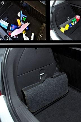 AutoFresh Citroen C3 Uyumlu Bagaj Erzak Malzeme Takım Çantası Kaymaz Cırtlı - Halı Battal Boy 0