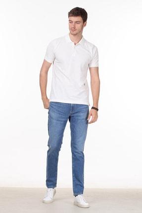 Ramsey Erkek Beyaz Desenli Örme T - Shirt RP10119909 2