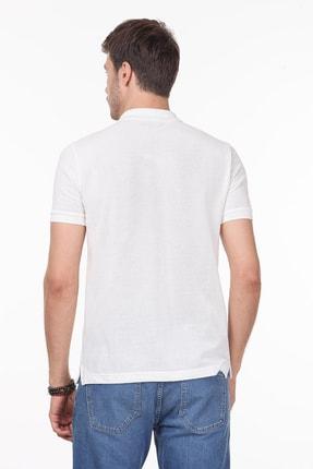 Ramsey Erkek Beyaz Desenli Örme T - Shirt RP10119909 3