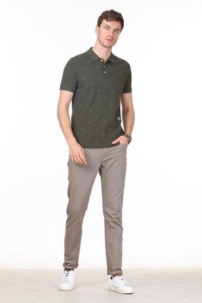 Ramsey Erkek Haki Desenli Örme T - Shirt RP10119909 1