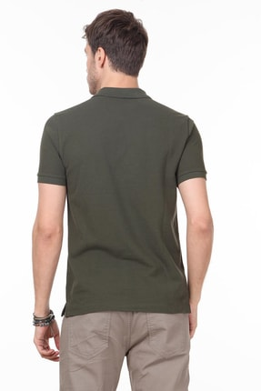 Ramsey Erkek Haki Desenli Örme T - Shirt RP10119909 2