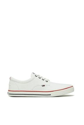 Tommy Hilfiger Erkek Textile Sneaker EM0EM00001 0