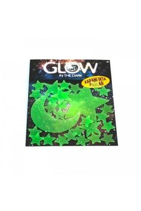 Artikel Ay Yıldızlar Fosforlu Duvar Sticker 30 Adet 1