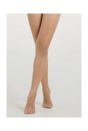 Suwen Invisible 8 Den Külotlu Çorap - Nude 0