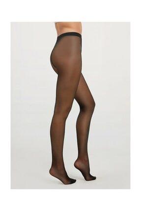 Suwen Tulle Külotlu Çorap - Siyah 1