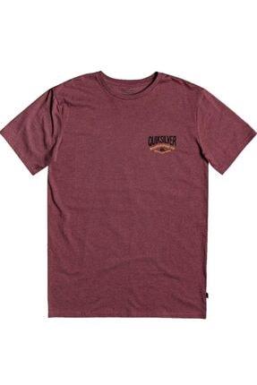 Quiksilver Bordo Cloud Cornerss M Tees Cphh Erkek T-shirt 0