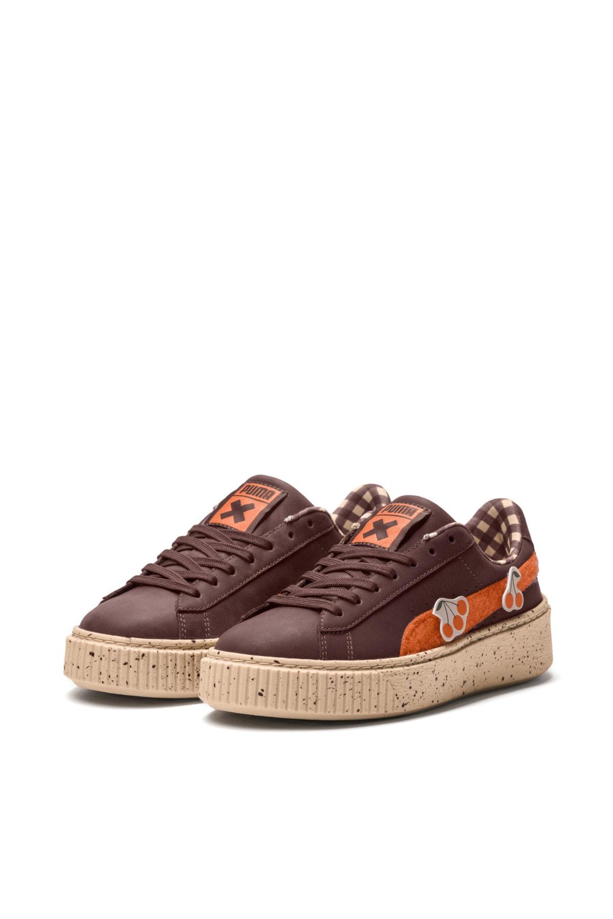 Puma PUMA x TINYCOTTONS Basket Platform Çocuk Ayakkabı 1