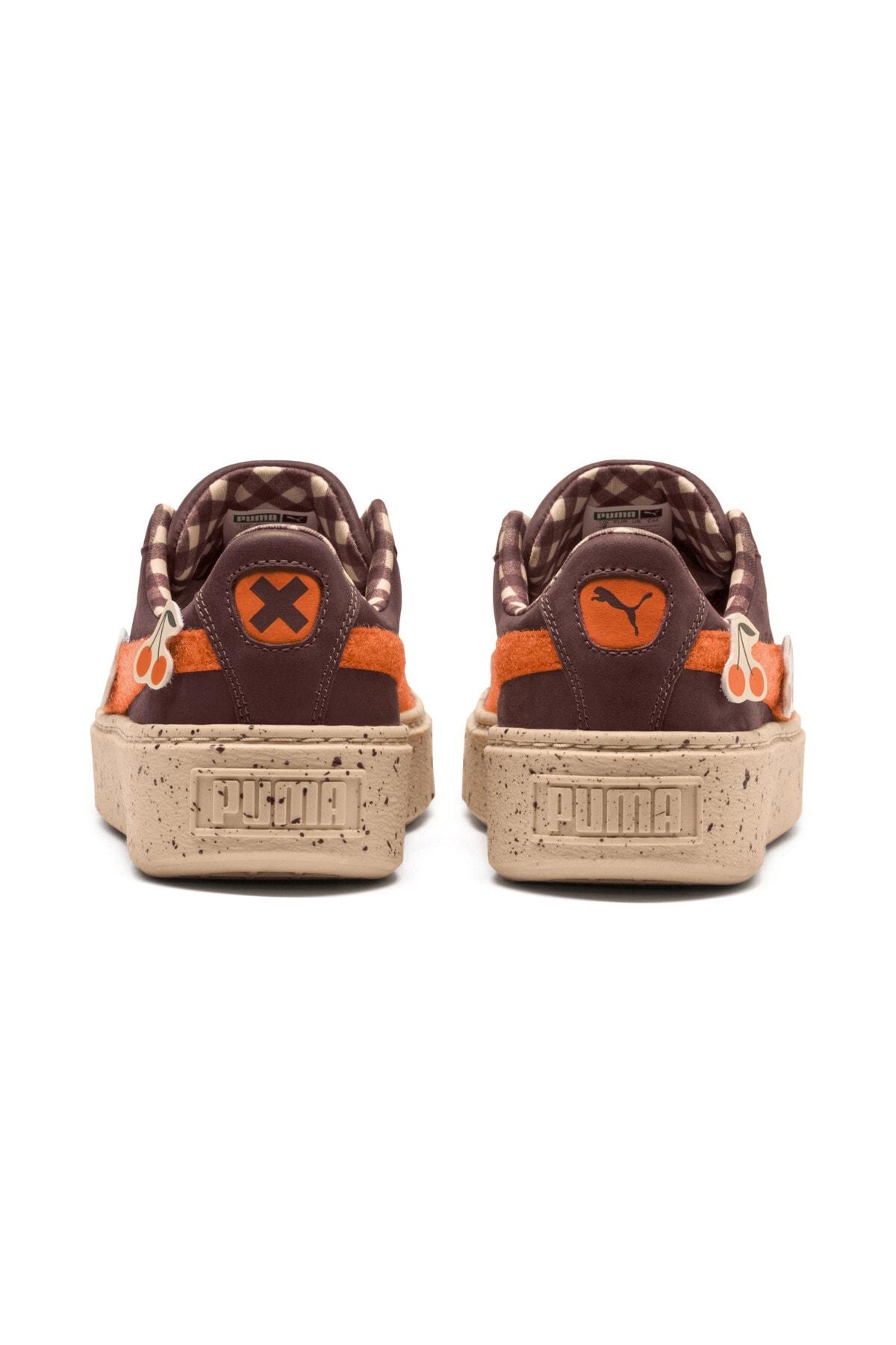 Puma PUMA x TINYCOTTONS Basket Platform Çocuk Ayakkabı 2