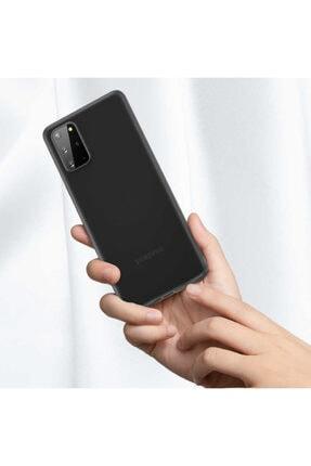 Benks Samsung Galaxy S20 Plus Parmak Izi Bırakmayan Kılıf Siyah 1