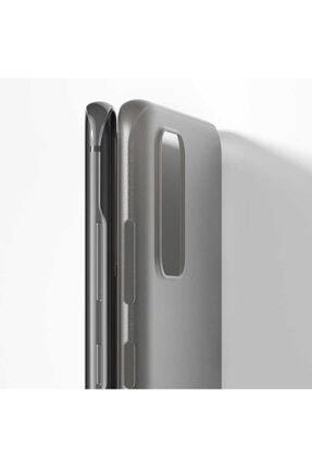 Benks Samsung Galaxy S20 Plus Parmak Izi Bırakmayan Kılıf Siyah 2