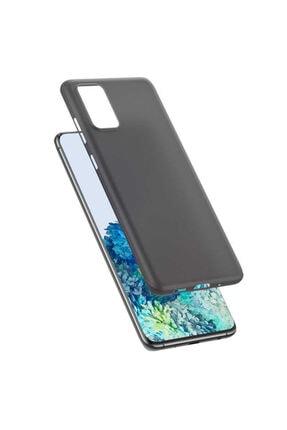 Benks Samsung Galaxy S20 Plus Parmak Izi Bırakmayan Kılıf Siyah 3