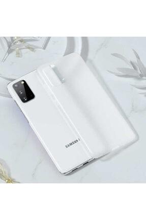 Benks Samsun Galaxy S20 Parmak Izi Bırakmayan Kılıf Beyaz 0