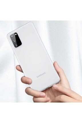 Benks Samsun Galaxy S20 Parmak Izi Bırakmayan Kılıf Beyaz 1