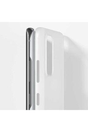 Benks Samsun Galaxy S20 Parmak Izi Bırakmayan Kılıf Beyaz 2