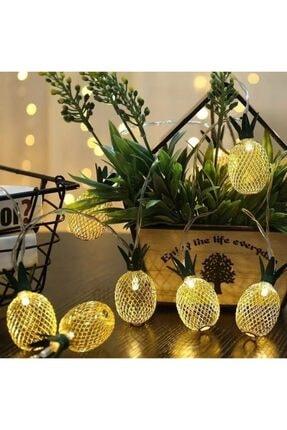 Bakmakistersen Pineapple Ananas Şerit Led Işık 2 Metre 4