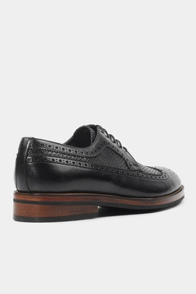 Hotiç HAKİKİ DERİ Siyah Erkek Klasik Ayakkabı 2