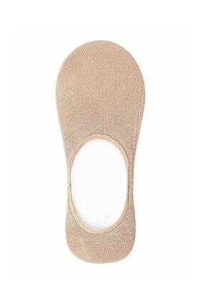 Suwen Kadın Ten Rengi Cotton Comfort Çorap 0