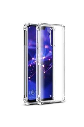 ACK Huawei Mate 20 Lite Kılıf Ultra Koruma Köşeleri Kalınlaştırılmış Antishock Şeffaf Silikon 1